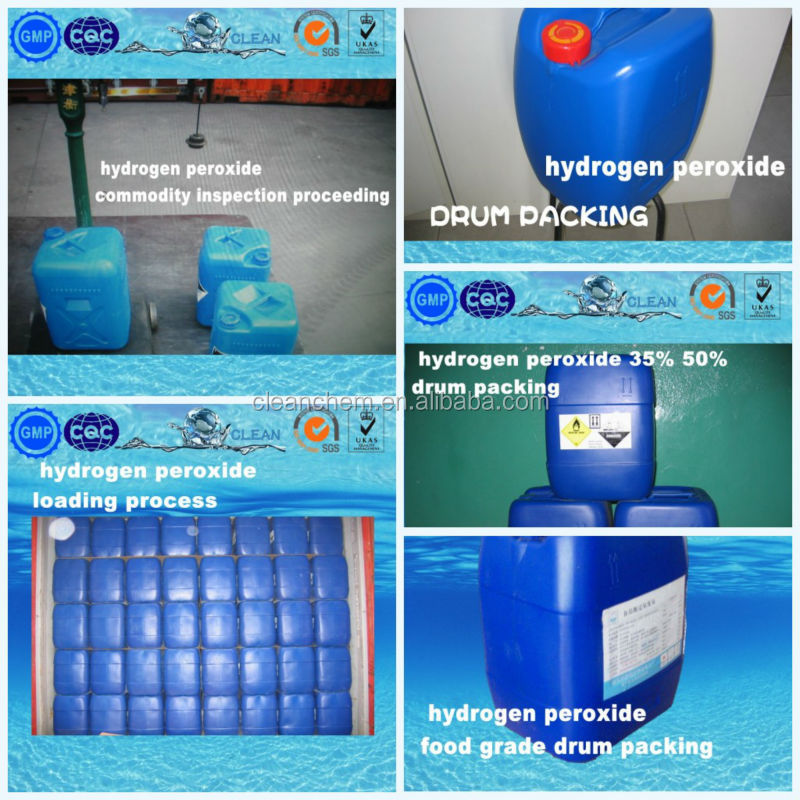[Trade Assurance] bulk hydrogen peroxide powder prices H2O2 35% 50%