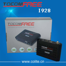 Tocomfree i928 best hd satellite receiver with internet connection