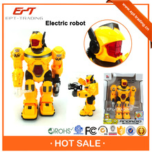 Top quality battery operated plastic toy robot for kids