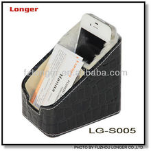 PU Leather Mobile Phone Holder with Name Card holder LG-S005