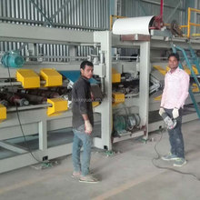 Glass wool sandwich panel roll forming machine