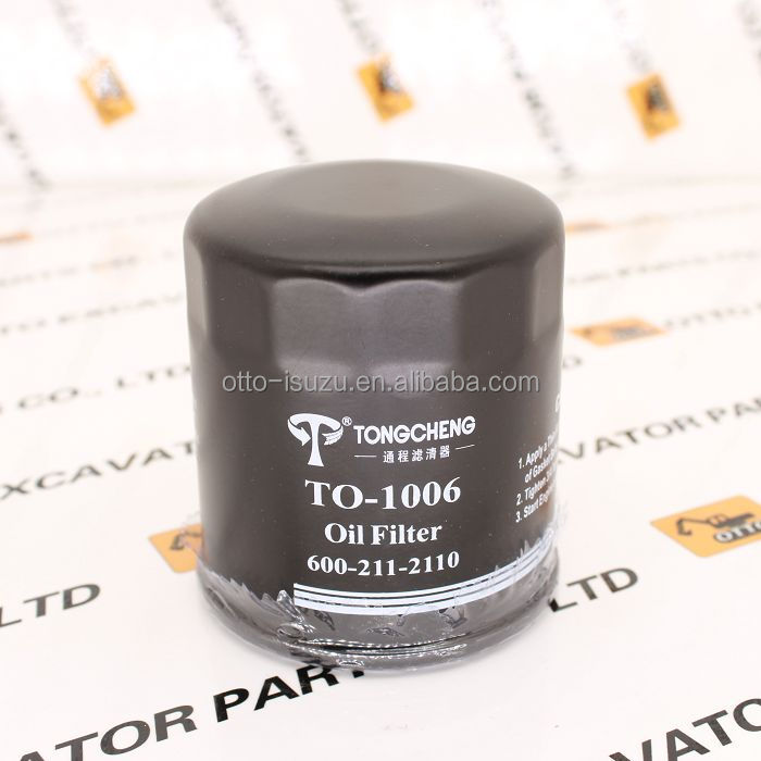 600-211-2110 PC130-8 PC88-8 PC78-8 PC138-10 PC60-7 4D95 Engine Oil Filter