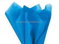 "Brilliant Blue Wrap Tissue Paper 15"" X 20"" - 100 Sheets"