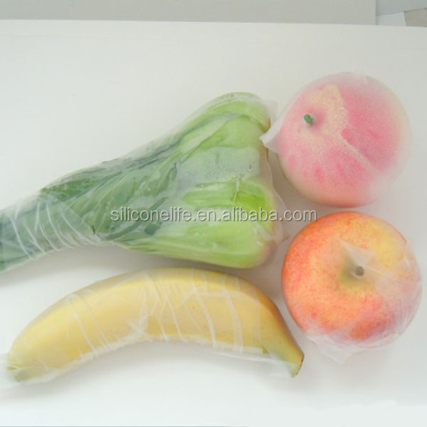 Hot! Fresh Packaging Food Grade Cling Film Silicone Food Wrap Stretch Film