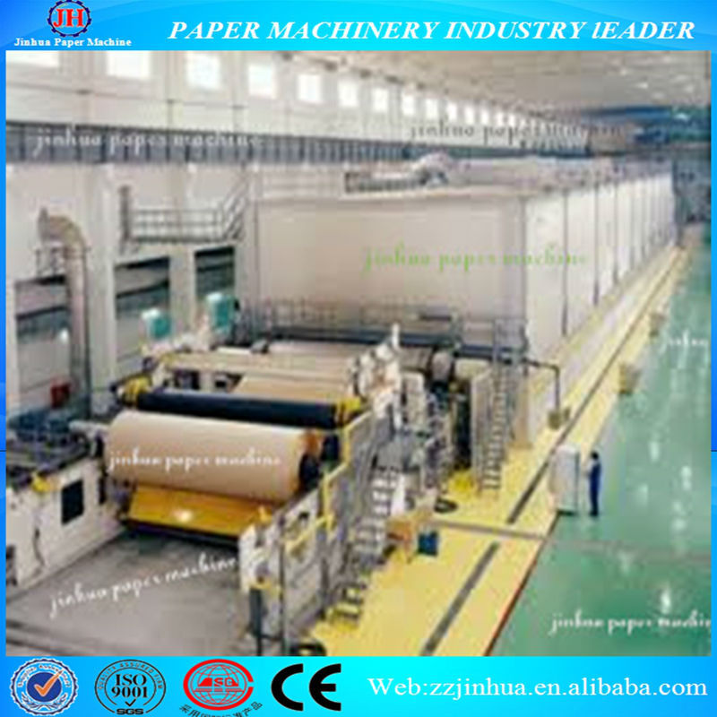 1575-3200mm Top Quality Kraft Paper Machinery to produce the craft papers