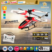 2016 Hot boy helicopter toys 3 functions rc helicopter