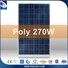 Perlight White/black New Chinese 250W Poly Suntech Solar