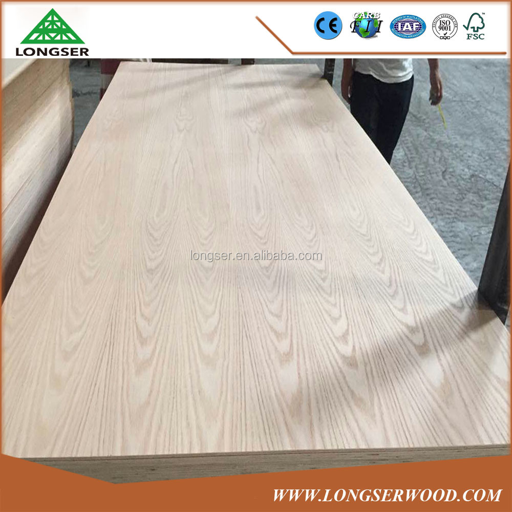 AAA Grade 5.2mm Red Oak Decorative Plywood Panels
