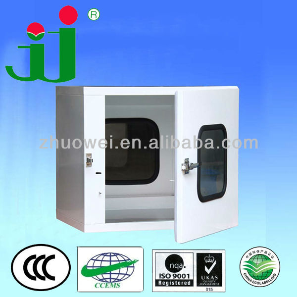 Electronic Interlock Pass Box for Cleanroom (clean transfer window)