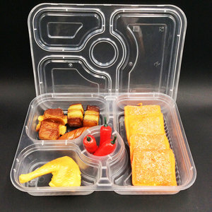 Restaurant Take Away Bento Box 4 Compartment Of Manufacturers