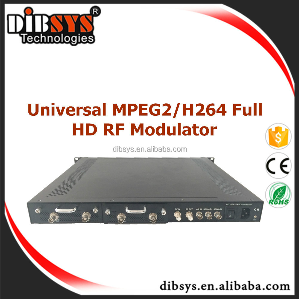 Low delay 4 hdmi isdb-t modulator hdmi to atsc modulator with IPTV streaming encoder IP and ASI out