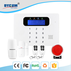 2017 Hot New Products Gsm Burglar Home Security Alarm System