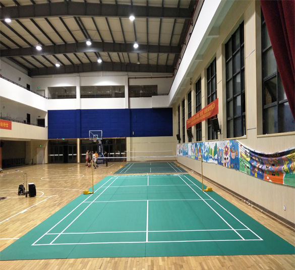 Indoor PVC Sports Flooring for Badminton Court Mat