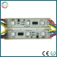 Color changeable led module 12v rgb 5050 3 led chips