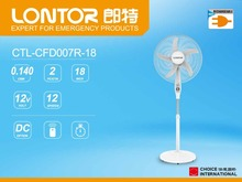 LONTOR 2017 new arrival 18 inch DC standing fan with timer function and remote control