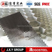 Aluminum foil thickness 0.04-1.2mm aluminum honeycomb core expanded machine with A3003/A5052