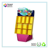 vivid paper display stand for kids' books toys