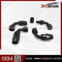Best Selling Durable Using Polished And Anodized AN10 An10 Oil Cooler Hose An Fittings