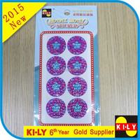 Eye-Catching Self-Adhesive Crystal Dome Sticker