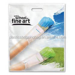 Hong Kong Produced Bio-degradable Punched-Out Carrier Bag Environmentally Friendly Plastic Bag
