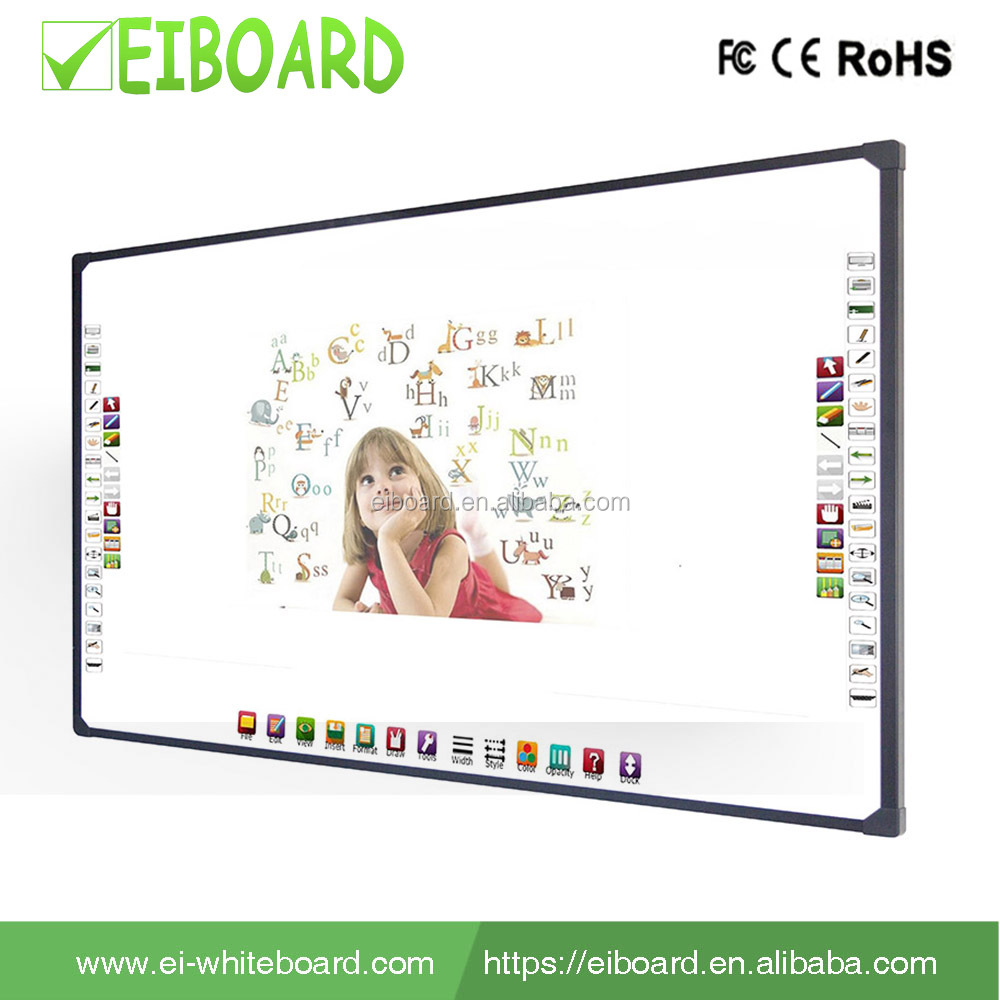96''4 touch cheap portable usb interactive whiteboard