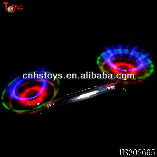 Promotion gifts glow spin toy