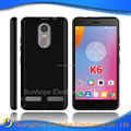 clear Transparent tpu soft cell phone case for Lenovo K6 power tpu cover