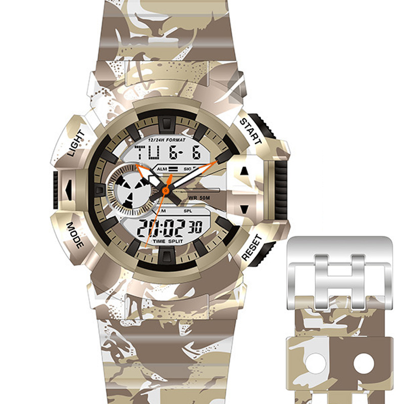 army watch outdoor sport camping watch Analog-digital watch