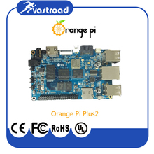 2GB DDR3 RAM Orange Pi Plus 2 Plus2 single board computer with 16GB EMMC Flash