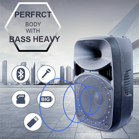 15 inch bass old songs mp3 free download programmable sound box trolley speaker for hall,fm radio portable speaker with usb port