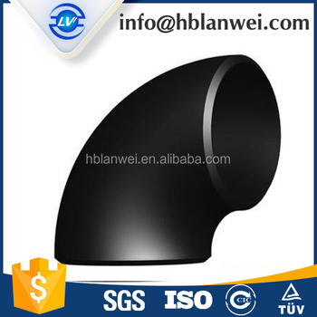 ASME B16.9 carbon steel seamless elbow