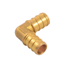 High quality Crimped type 90 Degree Pex Fitting brass pipe fitting