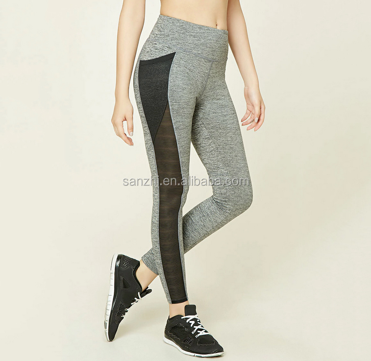 Wholesale Custom Blank Sport Sweat Tight Compression Trainning Dance Jogging Pants for Women