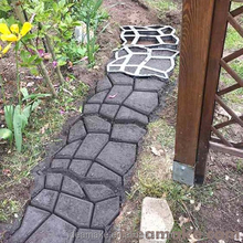 DIY Garden Precasting Concrete Pavement Mold for making pathways and pavillion