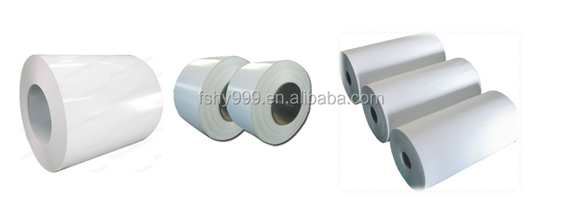 Whiteboard steel coils for making writing boards