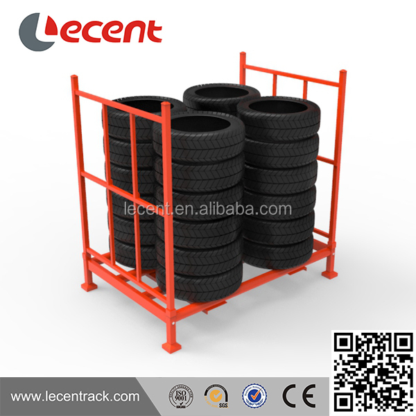 Manufacturer heavy duty detachable posts stacking pallet <strong>rack</strong>