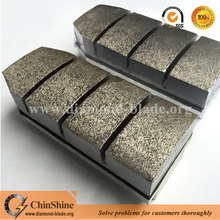 Durable abrasive grinding block diamond fickert for grinding granite and marble slabs