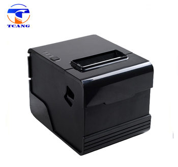 80mm pos printer support USB/Serial/Lan interface with auto cutter