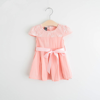 Clothes From China Wholesale Boutique Kids Dress Baby Cotton Frocks Designs For Girls