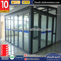 European Design Aluminum Glass House/Sun Room For Garden