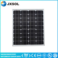 80w mono solar panel for industry use with MC4 connectors junction box
