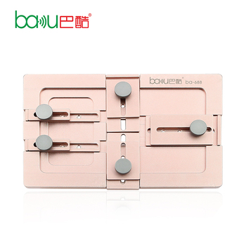 BAKU ba-688 Mobile Phone Repair Equipment High Precision LCD Aluminium Alloy Universal Metal Mould For Iphone Samsung
