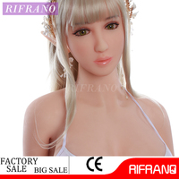 2017 Adult Medical Lifelike Full Silicone TPR Realistic Big Boobs Fat Ass Sex Doll for Men