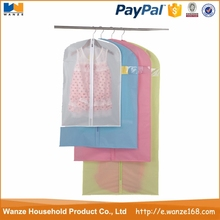 china factory price Clear PVC Dance Costume Garment Bag With Pockets wholesale