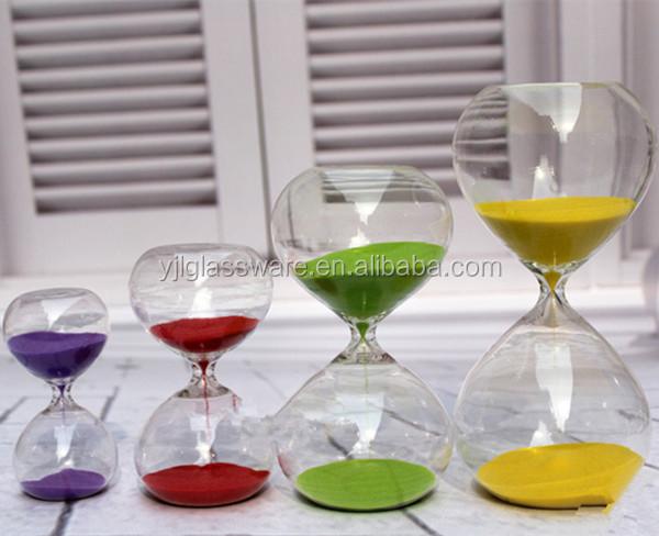 2016 best selling promotional glass sand timer
