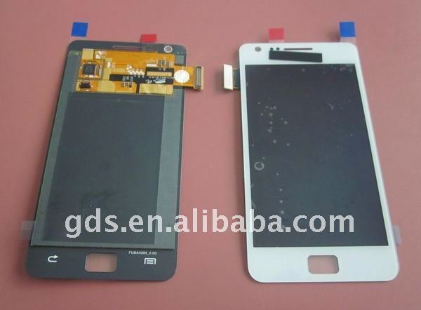 For Galaxy s2 i9100 lcd touch screen