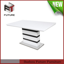 dining room furniture 6 seater high gloss furniture