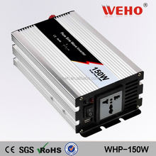 Best manufacture of china 150w pure sine wave multifunction solar panel inverters