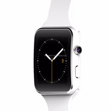 stylish design,smart watch x6+ ,2G GSM ,MTK6261D,health care smartwatch with sleeping monitor,2 colors