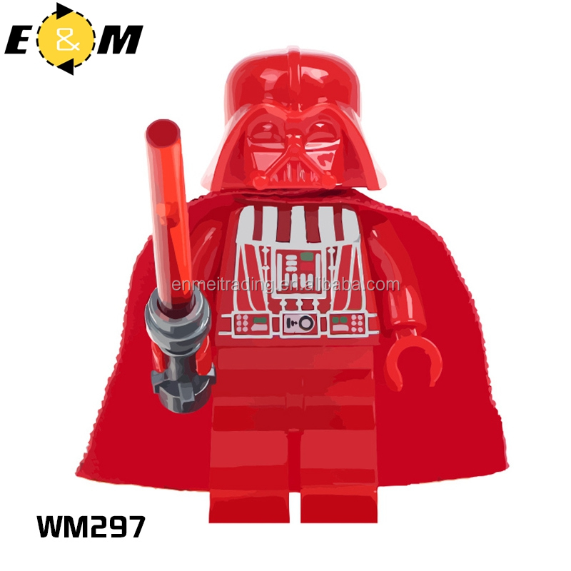 Chair Rail Wm 297 Part - 46: Building Blocks WM297 Red Darth Vader Yoda Kylo U003cstrongu003eRenu003c/strongu003e